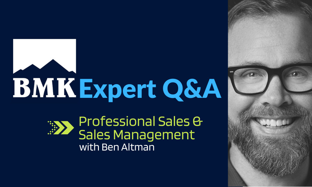 Expert Q&A Series: Managing the Sales Grind